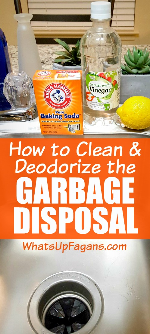 How To Clean And Deodorize Your Smelly Garbage Disposal