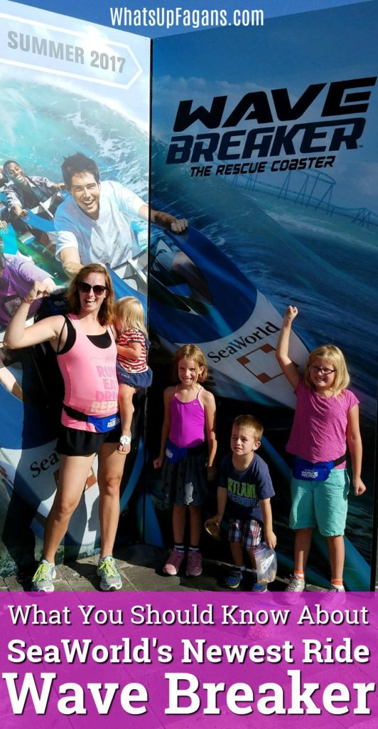 Wave Breaker Ride at SeaWorld San Antonio