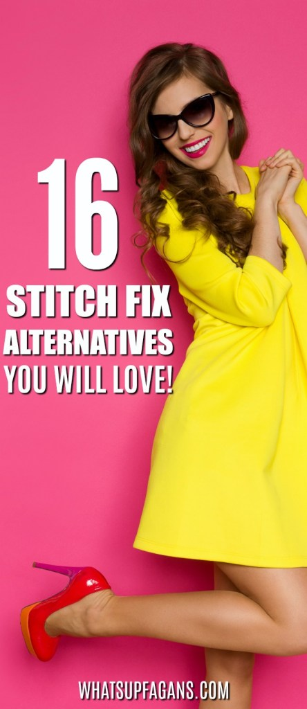 WOW! Great list of Stitch Fix alternatives for women men plus size and maternity clothing! I can't wait to try these Stitch Fix competitors and try out a personal styling service subscription.