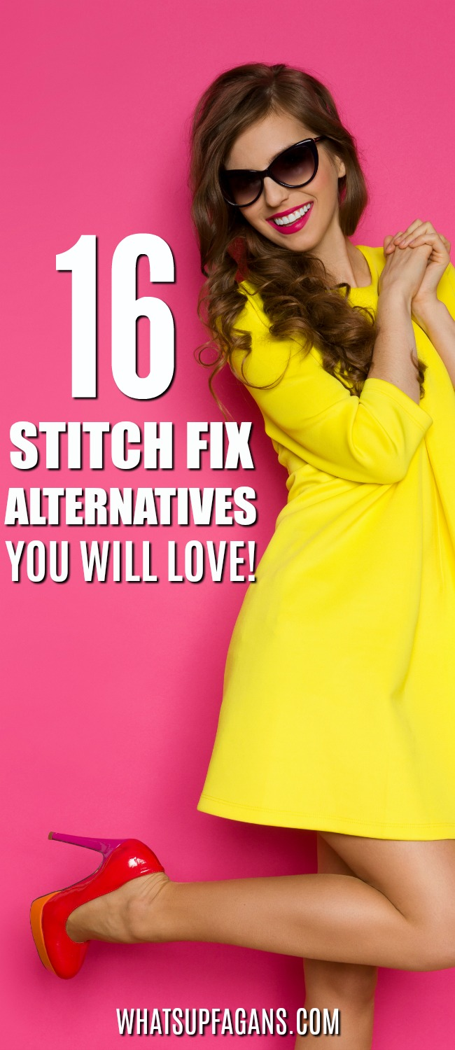 WOW! Great list of Stitch Fix alternatives for women men plus size and maternity clothing! I can't wait to try these Stitch Fix competitors and try out a personal styling service subscription. #stitchfix #fashion #style #womens #mens #subscriptionbox #clothes