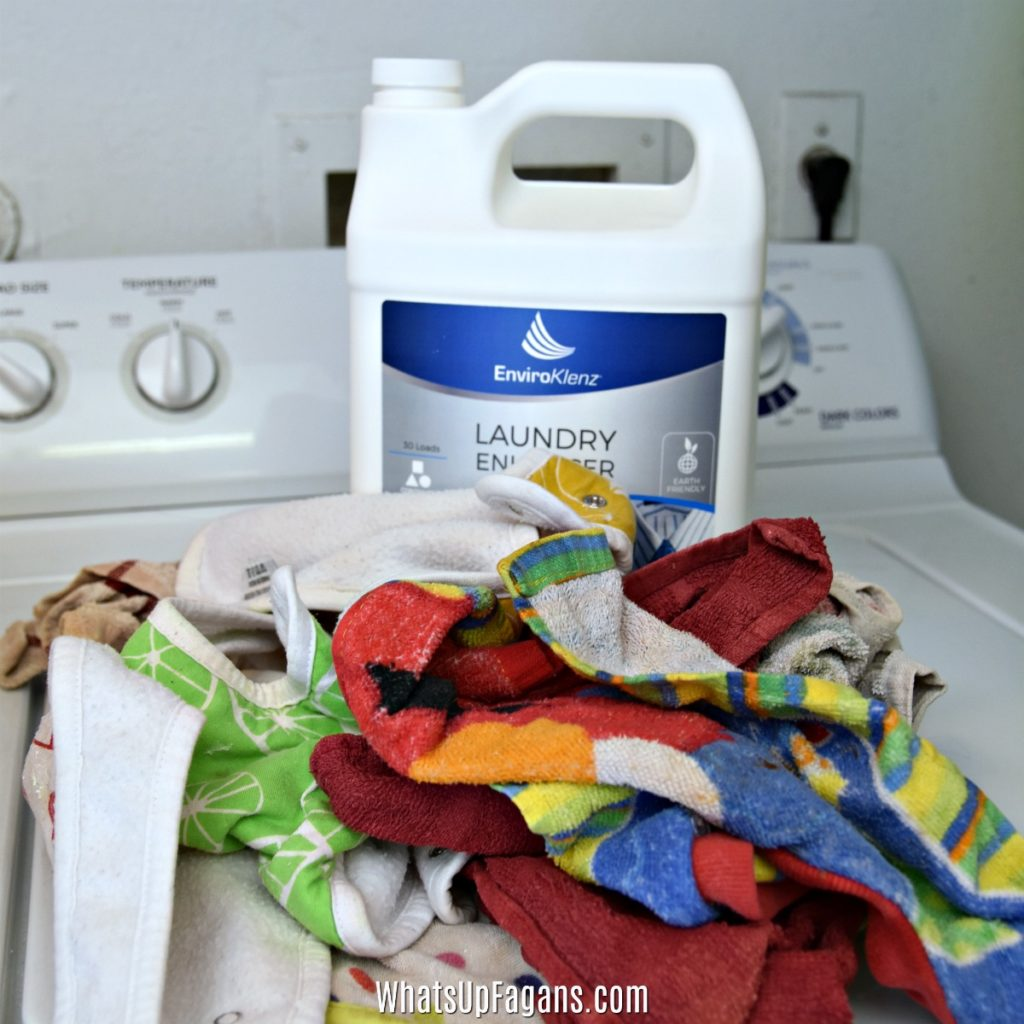 How to get rid of smells from kitchen dish cloths