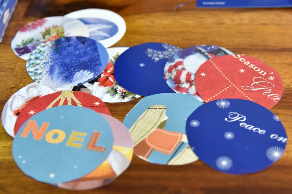 how to make a cool geometric christmas ornament with