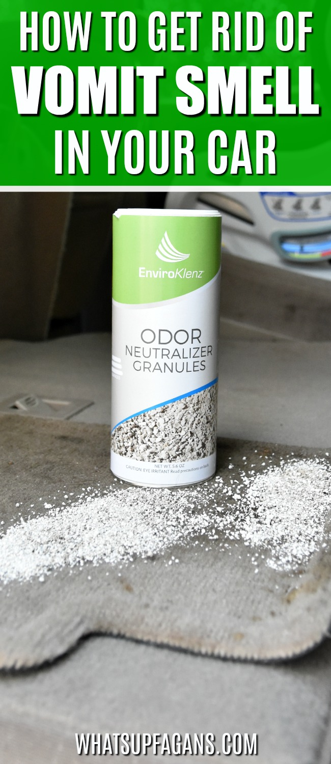 How To Get Vomit Smell Out Of Carpet >> How To Get Rid Of Vomit Smell In Car With Only 1 Product