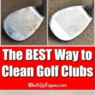 best way to clean golf clubs