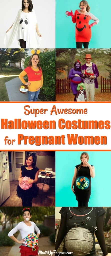 9b9c89b7fa402 16 Pregnant Halloween Costumes Ideas that Embrace the Bump