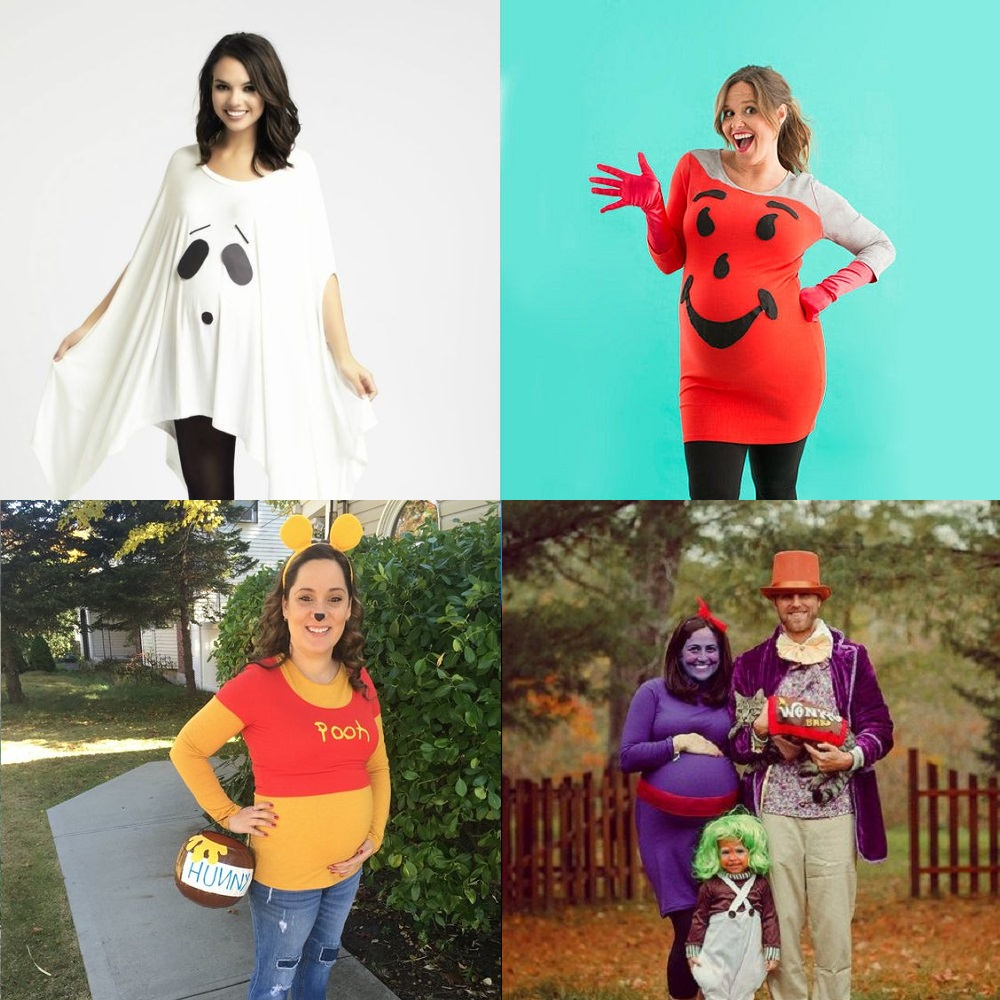 32aeaa46207 16 Pregnant Halloween Costumes Ideas that Embrace the Bump