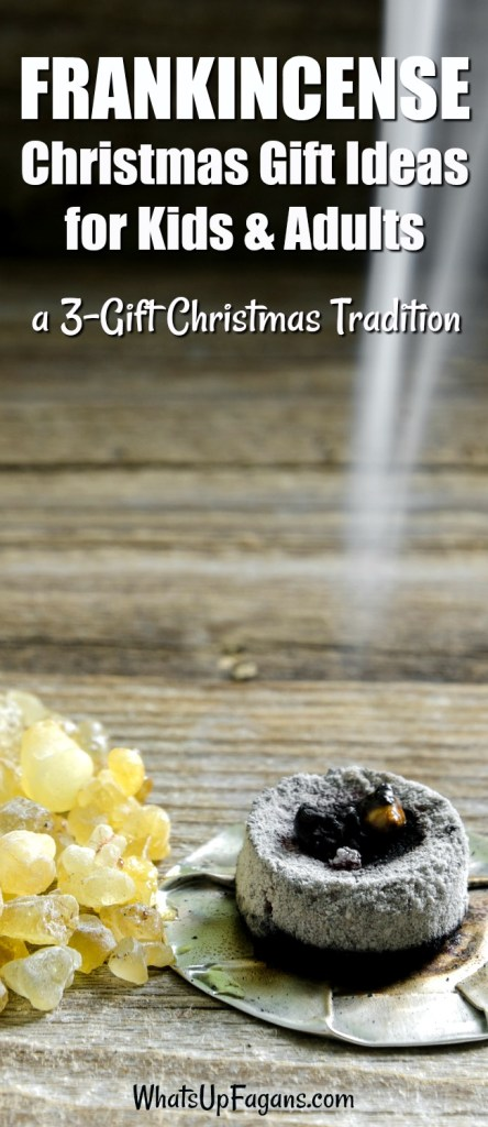 gold frankincense and myrrh Christmas gifts | 3 gift Christmas tradition rule