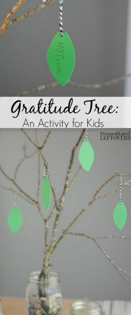 Gratitude tree - gratitude activities perfect for thanksgiving or November