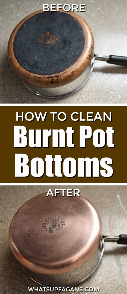 How To Clean The Bottom Of Burned Pot The Easy Way