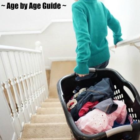 how to teach kids to do laundry - laundry skills - laundry chores