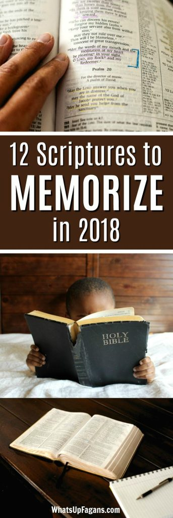 Scriptures About God Worth Memorizing in 2018