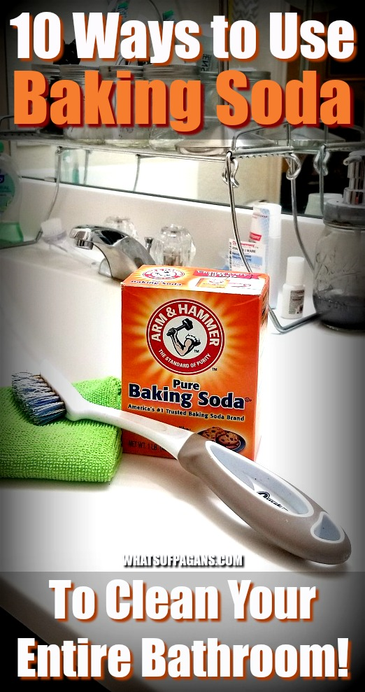 10 Ways to Use Baking Soda To Clean Your Entire Bathroom