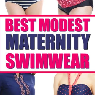 best modest maternity swimwear for pregnant women