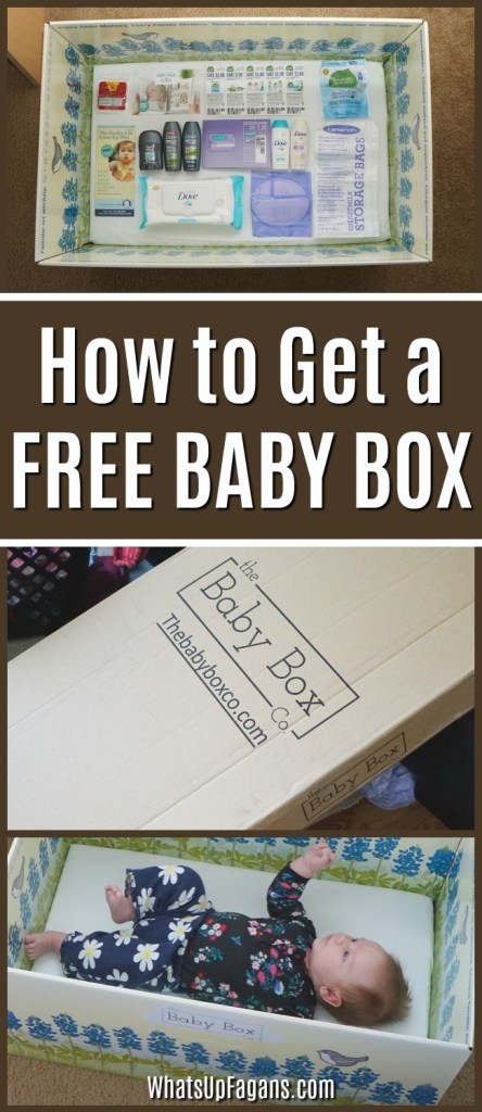 how to get a free baby box - baby box USA