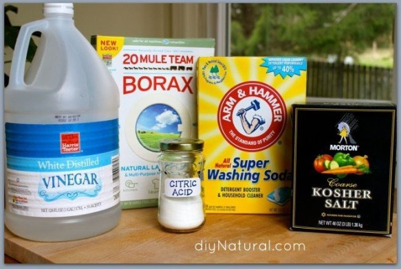 borax as dishwasher detergent