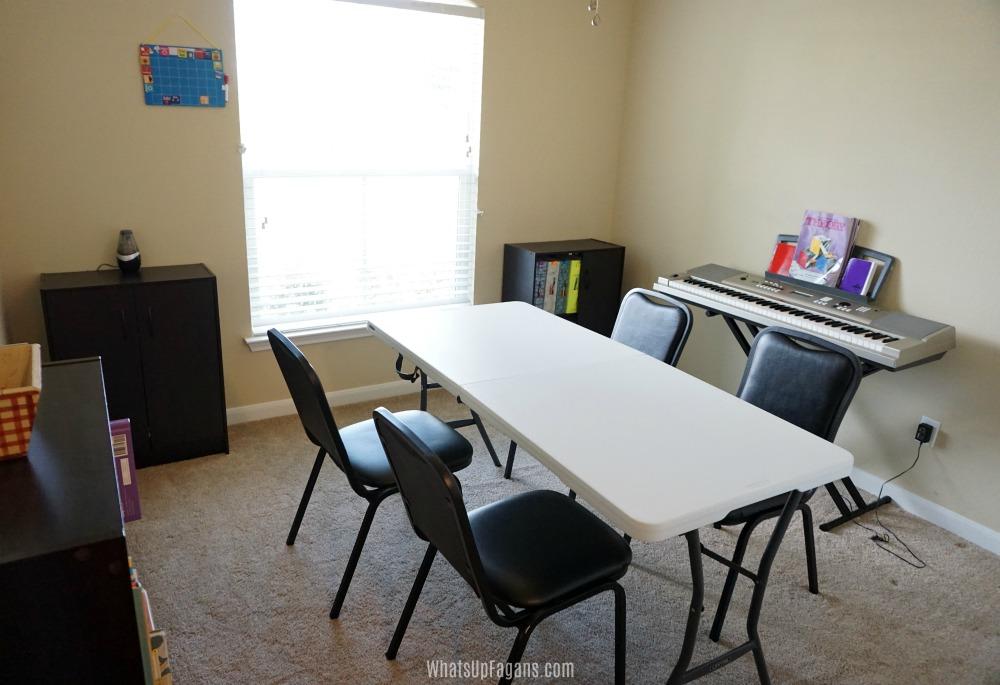 homeschool room tour - homeschool room setup