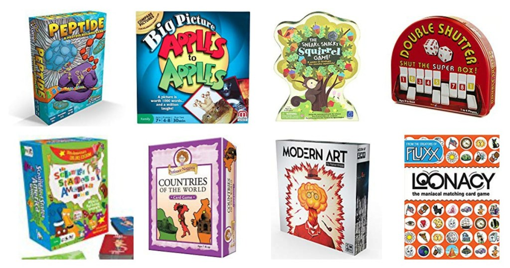 Best Educational Board Games and Card Games for Kids 3-18