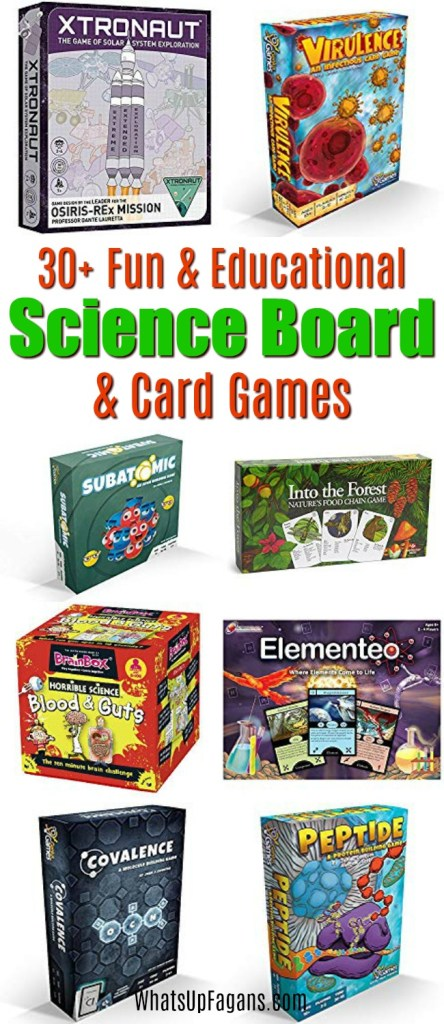 30+ Scientific Board Games that Combine Fun with Learning