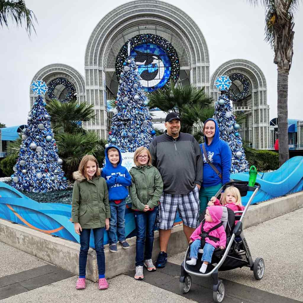 SeaWorld San Antonio at Christmas