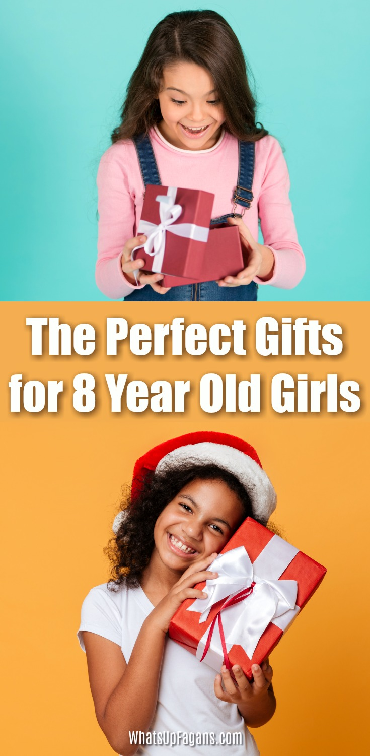Great list of gifts for 8-year-olds for Christmas or birthdays! These top cool and fun gift ideas for 8-year-old daughters or granddaughters are sure to delight! A good variety of options of presents for her! #giftsforkids #girls #birthdaygifts #gifts #giftideas #giftguide #christmasgifts #giftsforgirls #8yearold #daughter #presents