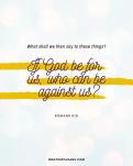positive affirmations scripture - Romans 8_31