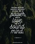 positive scriptures to memorize - 2 timothy 1_7