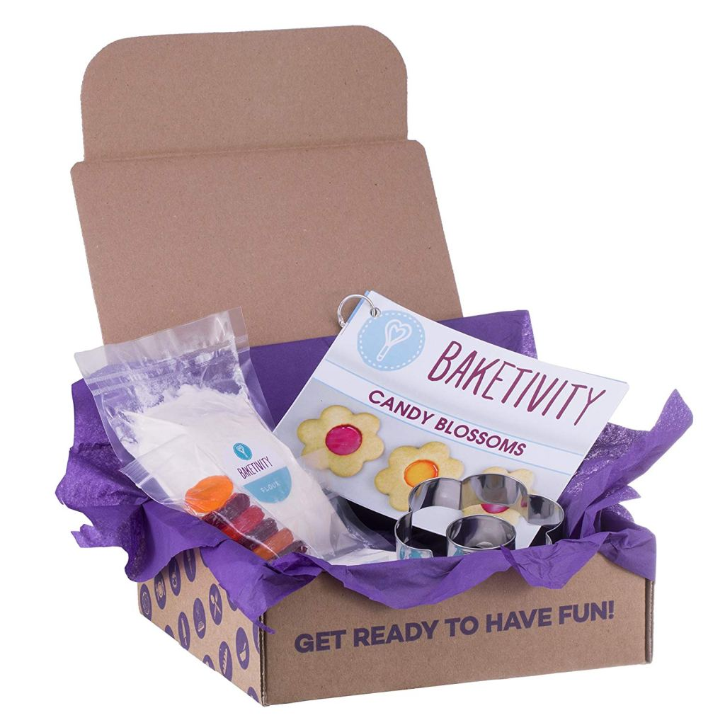 baketivity - kids baking box kit