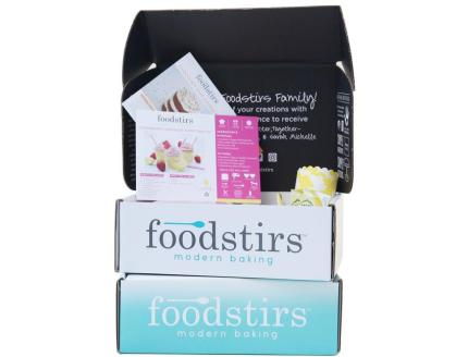 foodstirs monthly baking subscription box for kids