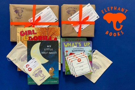 Elephant books monthly book box subscription