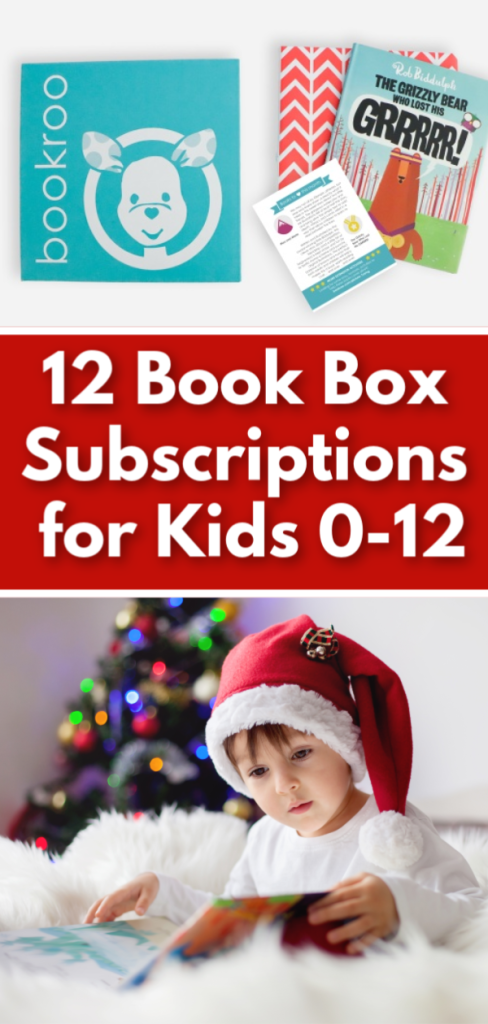 12 book subscription boxes for kids - babies, toddlers, preschoolers, and school aged children