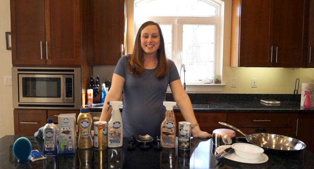 bar keepers friend products to clean the kitchen - deep cleaning kitchen checklist