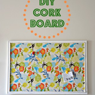 diy cork board, how to make a diy cork board, cork board redo, diy cork board