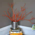 Diy Painted Tree Branches With Spray Paint Whats Ur Home Story
