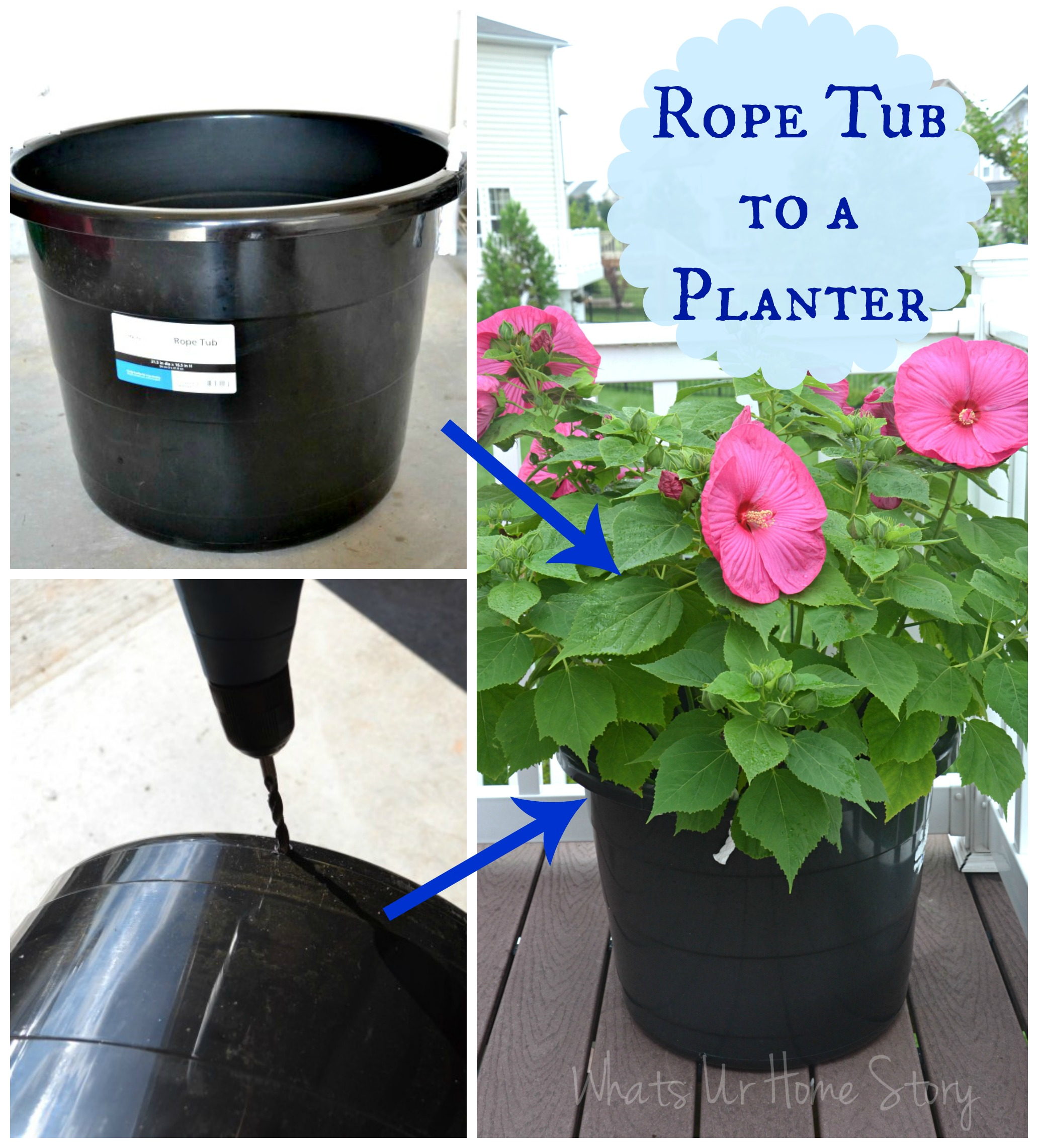 The Cheapest Way To Diy Large Plant Pots Whats Ur Home Story