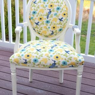 Annie Sloan Chalk Paint Chair Makeover