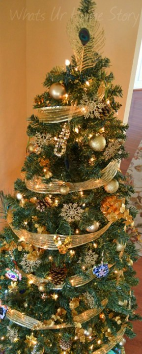 Our Nature Inspired Glam Christmas Tree