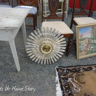 Whats Ur Home Story: Sunburst Clock