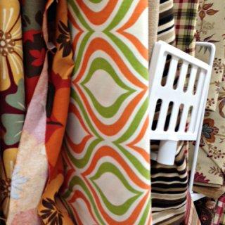 Whats Ur Home Story: Geometric print fabrics