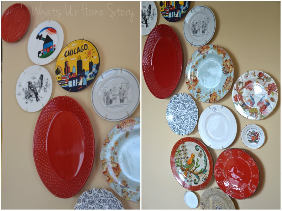 Decorative Plate Wall & Decorative Plate Wall | Whats Ur Home Story