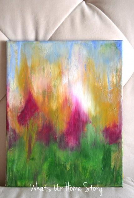 DIY Abstract Painting