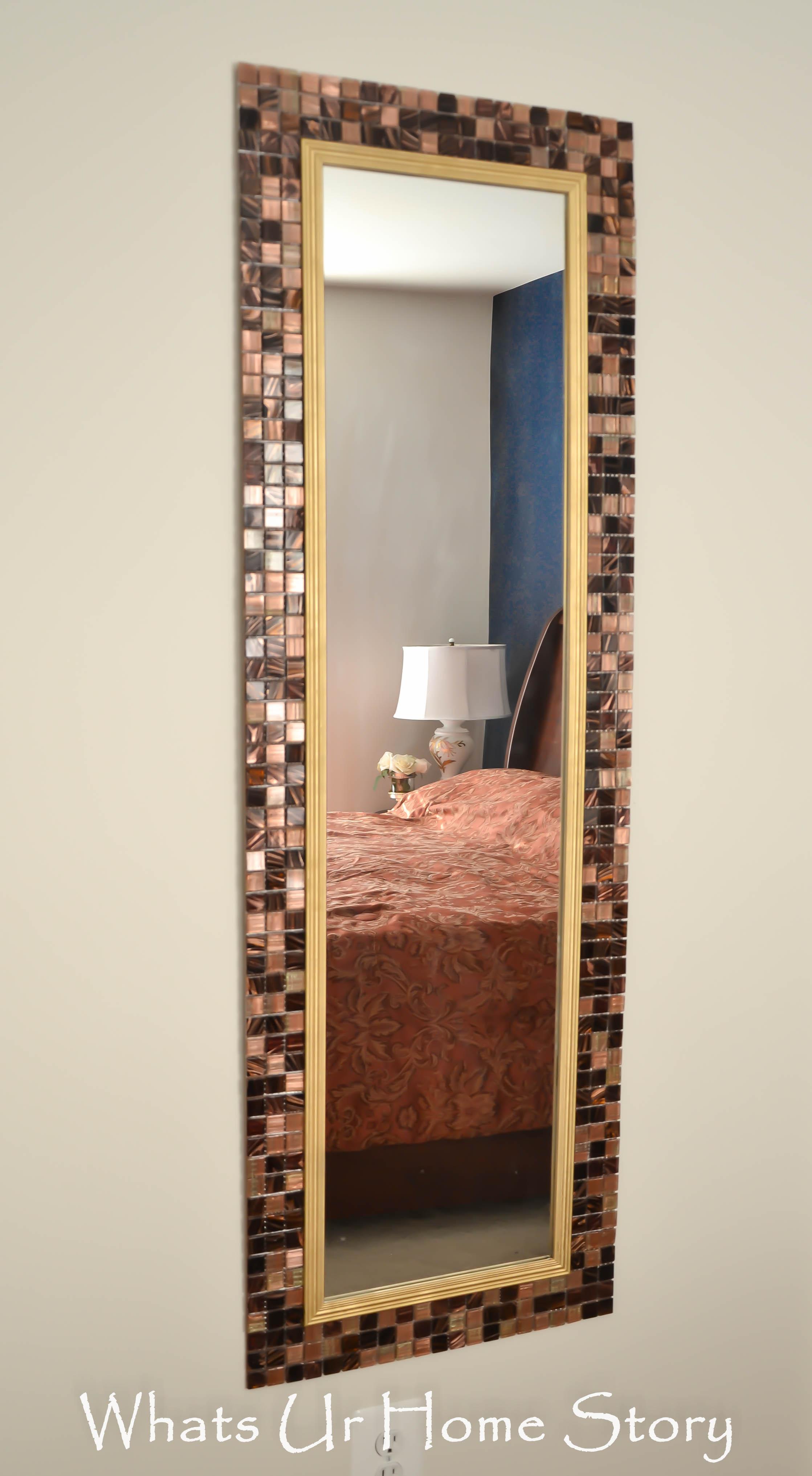 Dress up cheap mirror tiles