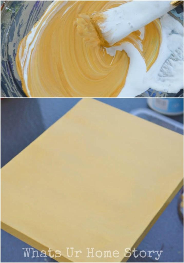 DIY Sharpie Canvas Art