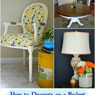 Great tips on how to decorate on a budget Whats Ur Home Story