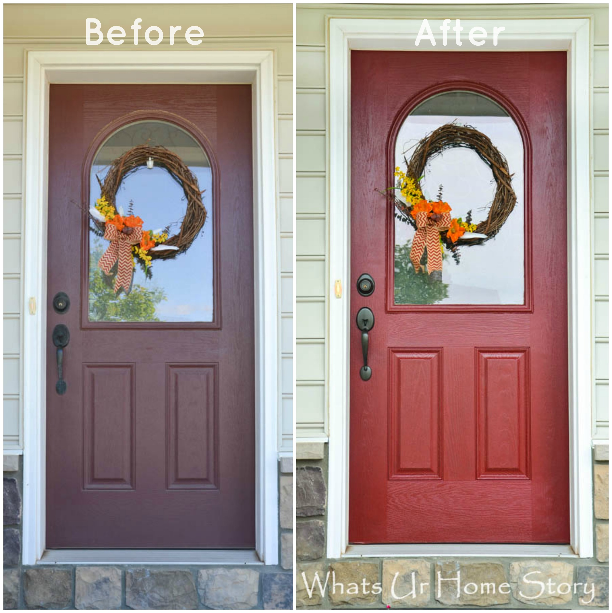 How to Paint a Front Door \u0026 a Giveaway! & How to Paint a Front Door