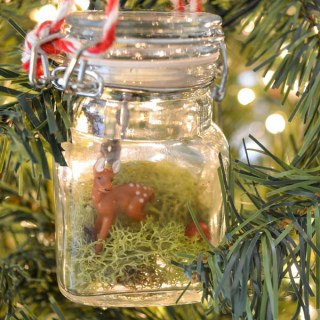 Add a touch of whimsy to your tree with this DIY Terrarium ornament