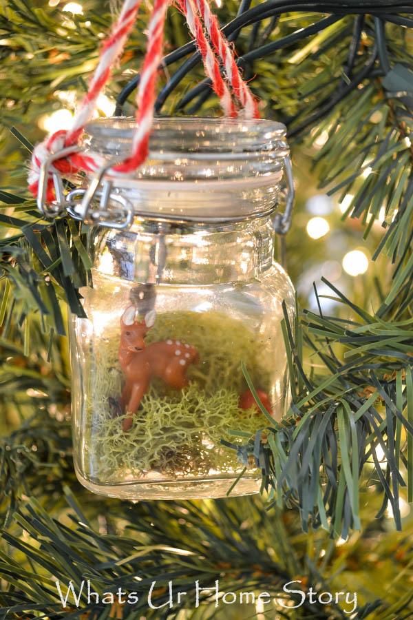 How to Build a Terrarium Christmas Ornament