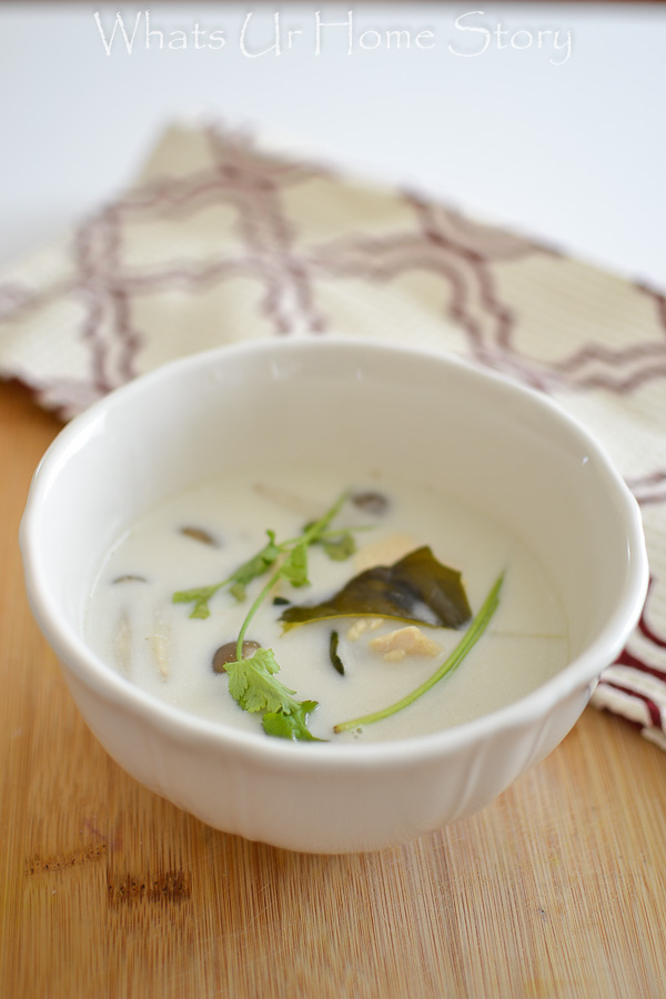 Tom Ka Gai (Thai Coconut Chicken Soup)