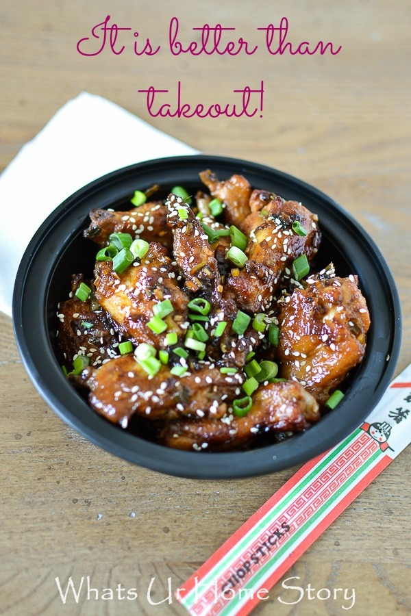 Sweet & Spicy Asian Chicken Wings
