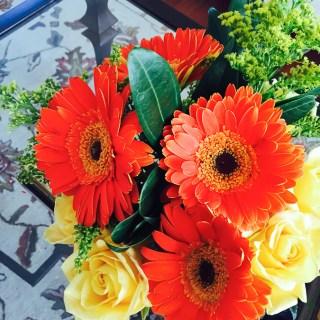 gereber daisy bouquet