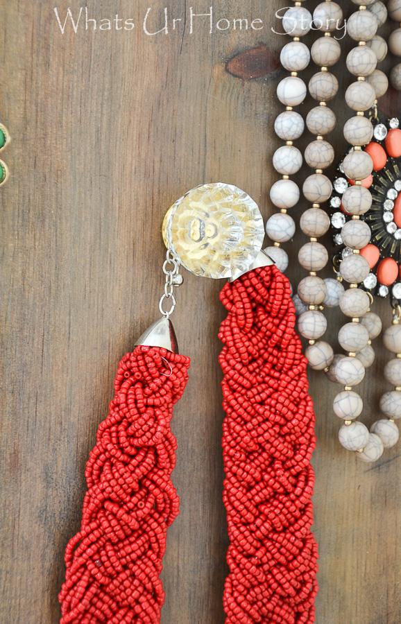 DIY Jewelry Organizer Whats Ur Home Story